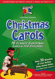 Christmas Carols, DVD   -     By: Cedarmont Kids