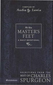 At the Master's Feet: A Daily Devotional - eBook  -     By: Audie G. Lewis