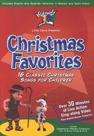 Christmas Favorites on DVD   -     By: Cedarmont Kids
