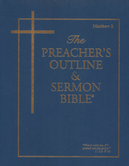 Preacher's Outline & Sermon Bible: KJV, Matthew Vol. 2   -