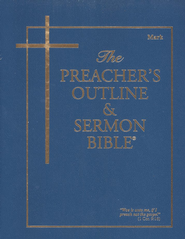 Preacher's Outline & Sermon Bible: KJV, Mark Vol. 3   -