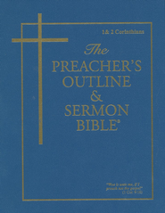 Preacher's Outline & Sermon Bible: KJV, I & II Corinthians Vol. 8   -