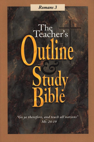 Teacher's Outline & Study Bible: Romans Volume 3   -