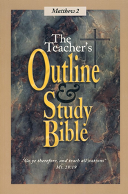 Teacher's Outline & Study Bible KJV: Matthew Volume 2   -