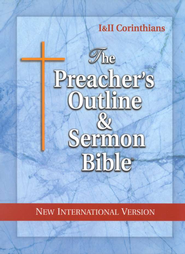The Preacher's Outline & Sermon Bible: NIV Corinthians   -
