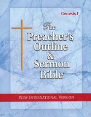 The Preacher's Outline & Sermon Bible: NIV Genesis (Volume #1)  -