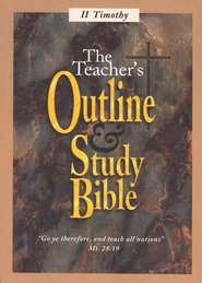 Teacher's Outline & Study Bible: 2 Timothy   -