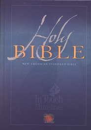 NAS Wide Margin In Touch Bible, Hardcover   -
