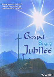 Gospel Singing Jubilee: TV Footage from the '70s, Vol. 1 DVD    -