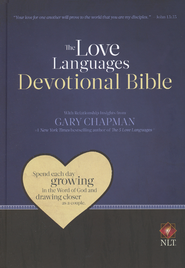 Love Languages Devotional Bible, NLT Hardcover   -              By: Gary Chapman