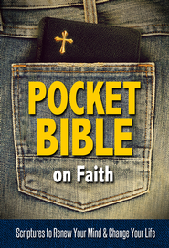 Pocket Bible on Faith: Scriptures to Renew Your Mind and Change Your Life - eBook  -     By: Harrison