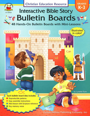 Interactive Bible Story Bulletin Boards (K-3): 48 Hands-On Bulletin Boards with Mini-Lessons  -     By: Lynette Pyne