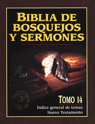 Biblia de Bosquejos y Sermones NT: Indice General  (The Preacher's Outline & Sermon Bible NT: Index)  -