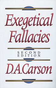Exegetical Fallacies - eBook  -     By: D.A. Carson