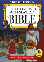 Children's Animated Bible: Old & New Testament, 2-DVD Collection    -