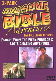Awesome Bible Adventures: Escape from the Fiery Furnace & Lot's  Amazing Adventure, DVD  -