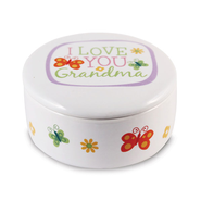 I Love You Grandma Trinket Box  -