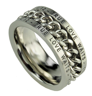 Chain Ring, True Love Waits, Size 12  -