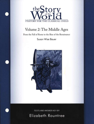 Story of the World, Vol. 2: The Middle Ages Test Book, Rev.   -