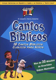 Cantos B&#237blicos  (Bible Songs), DVD  -     By: Cedarmont Kids