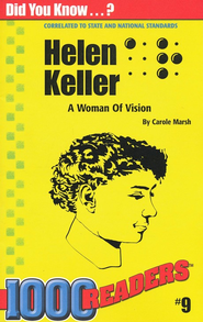 Helen Keller, 1000 Readers Series    -     By: Carole Marsh