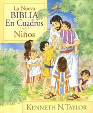 La Neuva Biblia En Cuadros Para Ninos The New Bible In Pictures for Little Eyes  -     By: Kenneth Taylor, Jose Luis Riveron