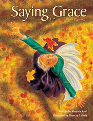 Saying Grace: A Prayer of Thanksgiving - eBook  -     By: Virginia Kroll, Tim Ladwig