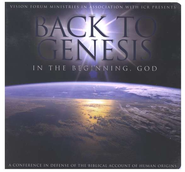 Back to Genesis: In the Beginning God                    - Audiobook on CD  -