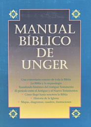 Manual Biblico de Unger, Enc. Rustica / Unger's Bible Handbook, Softcover - Spanish Ed.  -     By: Merrill F. Unger