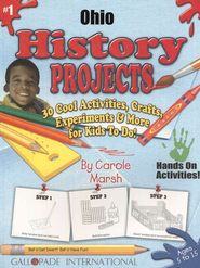 Ohio History Project Book, Grades 3-8  -     By: Carole Marsh