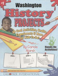 Washington History Project Book, Grades 3-8  -     By: Carole Marsh