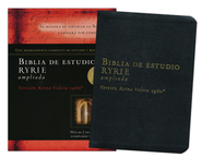 Biblia de estudio Ryrie ampliada, The New Ryrie Study Bible  -              By: Charles Ryrie