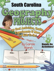 South Carolina Geography Project Book, Grades 3-8  -     By: Carole Marsh