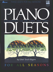 Piano Duets for All Seasons  -     By: Ethel Rogers