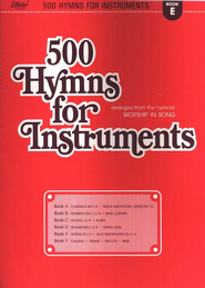 500 Hymns for Instruments, Book E  -     By: Harold Lane