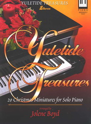 Yuletide Treasures: 20 Christmas Miniatures for Solo Piano  -              By: Jolene Boyd
