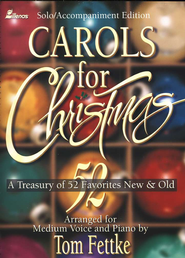 Carols For Christmas, Folio   -