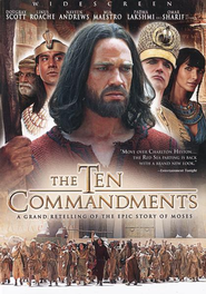 The Ten Commandments: The Complete Miniseries, DVD   -
