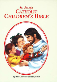 St. Joseph Catholic Children's Bible, Hardcover   -     By: Rev. Lawrence Lovasik