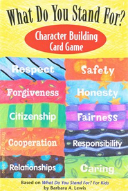 What Do You Stand For? Character Building Card Game  -