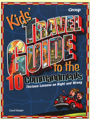 Kids' Travel Guide to the Ten Commandments  -