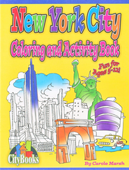 New York City Coloring & Activity Book  -     By: Carole Marsh