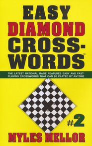 Easy Diamond Crosswords #2  -     By: Myles Mellor