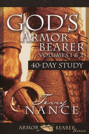 God's Armor Bearer, Volumes 1 & 2: 40-Day Study   - Slightly Imperfect  -