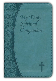 My Daily Spiritual Companion, Imitation Leather Green/Blue  -     By: Marci Alborghetti
