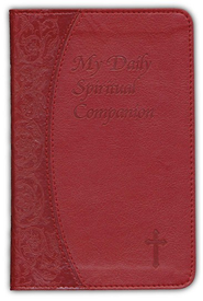 My Daily Spiritual Companion, Imitation Leather, Red  -     By: Marci Alborghetti