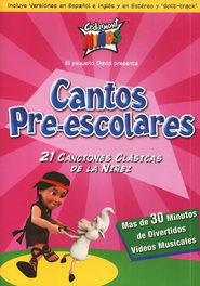 Cantos Pre-Escolares  (Preschool Songs), DVD  -     By: Cedarmont Kids