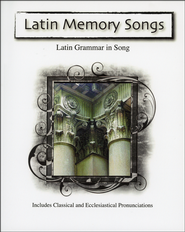 Latin Memory Songs--Book and CD   -