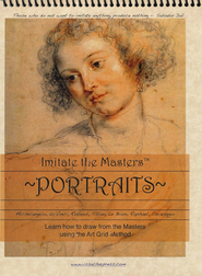 Imitate the Masters Art Grid Drawing   -