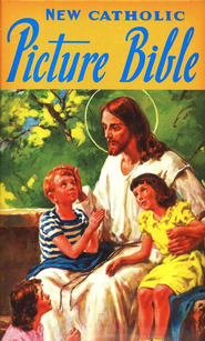 New Catholic Picture Bible, Padded Hardcover   -     By: Rev. Lawrence Lovasik